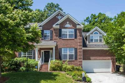 Durham Single Family Home Contingent: 1106 Pebble Creek Crossing