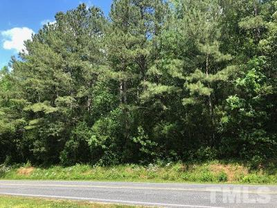 Chatham County Residential Lots & Land For Sale: 2368 Buckner Clark Road