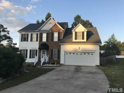 Raleigh Single Family Home Contingent: 816 Falling Wind Court