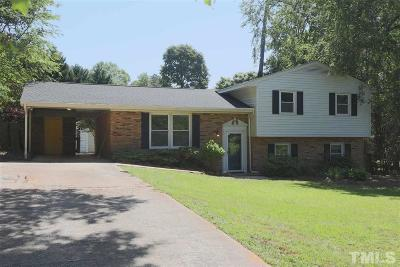 Raleigh NC Single Family Home For Sale: $230,000