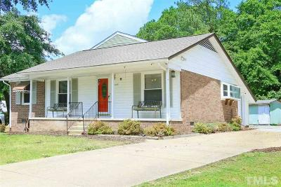 Raleigh NC Single Family Home For Sale: $279,000