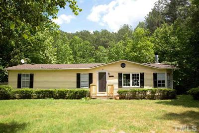 Wake Forest Manufactured Home For Sale: 3161 Buckhorn Lane