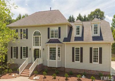 Cary Single Family Home Contingent: 301 Gingergate Drive
