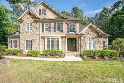 Raleigh Single Family Home For Sale: 3012 Slippery Creek Drive