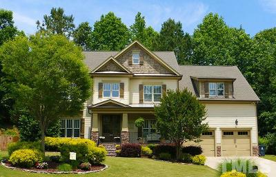 Holly Springs Single Family Home For Sale: 141 Eden Glen Drive