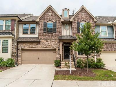 Cary Townhouse For Sale: 3909 Valley Side Court
