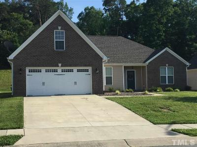 Graham Single Family Home For Sale: 3046 Cullens Drive