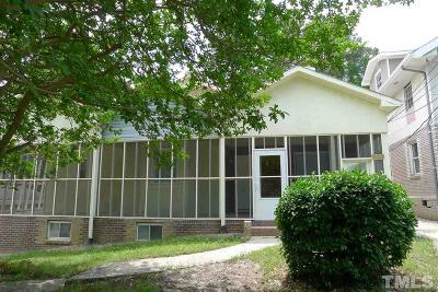 Durham Rental For Rent: 520 Nash Street #D