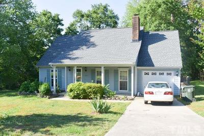 Raleigh Single Family Home Pending: 2805 Fernhurst Court
