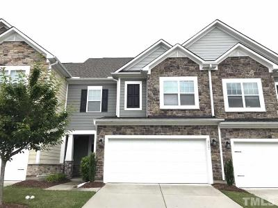 Cary NC Townhouse For Sale: $315,000