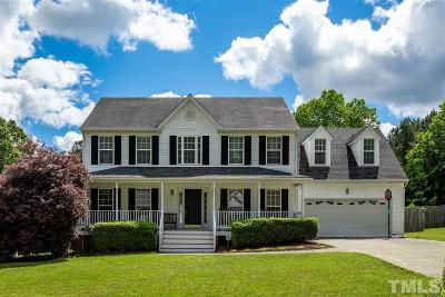 Wake Forest Single Family Home Contingent: 6432 Willowlawn Drive