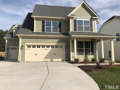 Fuquay Varina Single Family Home Pending: 1124 Matisse Drive