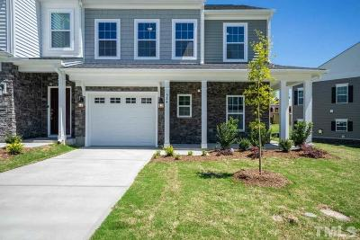 Fuquay Varina Townhouse For Sale: 601 Barneswyck Drive