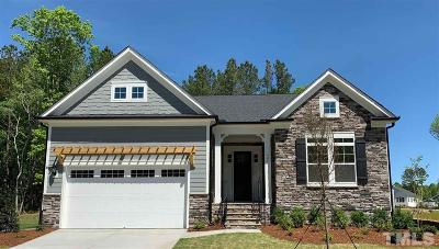 Chatham County Single Family Home For Sale: 1076 St Cloud Loop #Lot 116