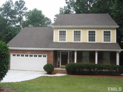 Cary Rental For Rent: 107 Pinehill Way