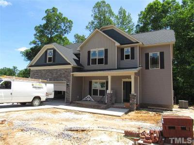 Clayton Single Family Home Pending: 210 Summit Overlook Drive