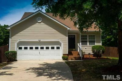 Knightdale Single Family Home Contingent: 406 Laurens Way