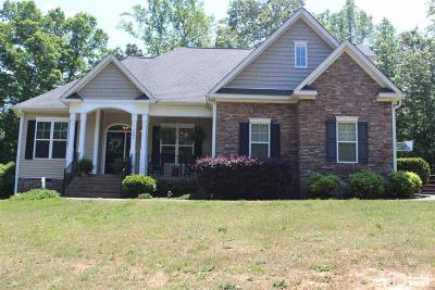 Granville County Single Family Home For Sale: 1085 Whip Lane