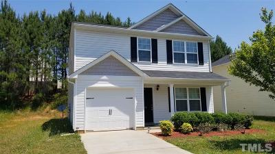 Clayton NC Single Family Home For Sale: $179,900