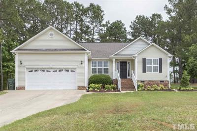 Angier NC Single Family Home For Sale: $175,000