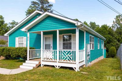 Durham Single Family Home For Sale: 2913 S Roxboro Avenue