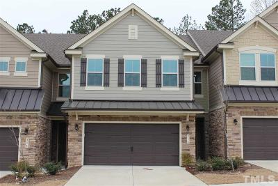 Cary Townhouse For Sale: 236 Alamosa Place