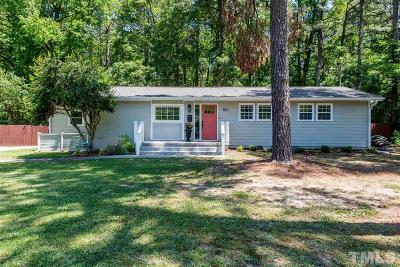 Raleigh Single Family Home For Sale: 814 Chatham Lane