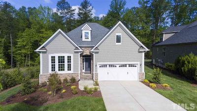 Wake Forest Single Family Home For Sale: 1656 Hasentree Villa Lane #Lot 411