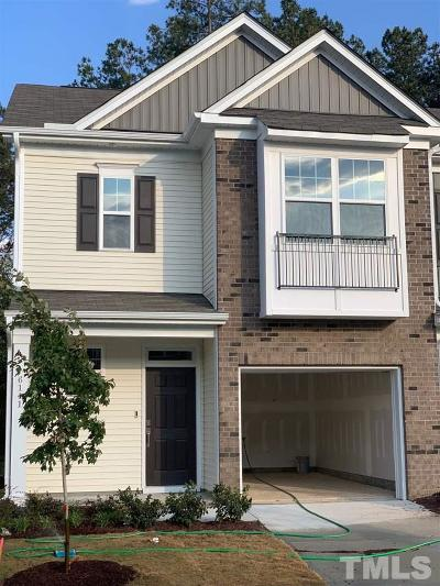 Wake County Townhouse Pending: 6141 Beale Loop #57 - Car