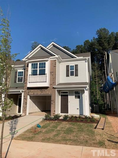 Wake County Townhouse Pending: 6147 Beale Loop #60 - Car