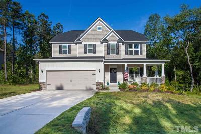 Angier Single Family Home Contingent: 53 Landlocked Circle