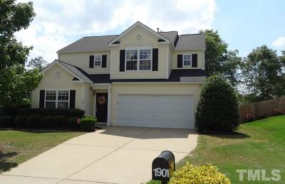 Wake County Single Family Home For Sale: 1901 Ashview Drive