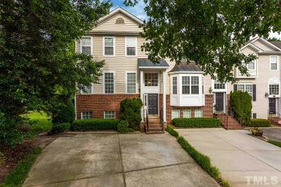 Wake County Townhouse For Sale: 6721 Middleboro Drive