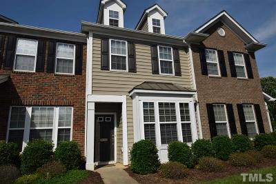 Raleigh Townhouse For Sale: 856 Cupola Drive