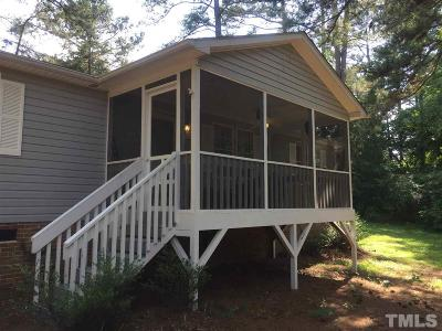 Pittsboro Manufactured Home For Sale: 178 Blake Drive