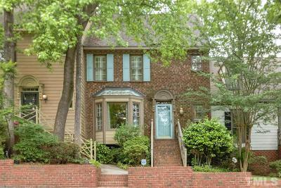 Raleigh Townhouse For Sale: 1411 Fowlkes Place