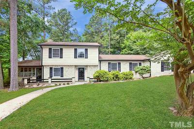 Raleigh Single Family Home For Sale: 2220 Hillock Drive