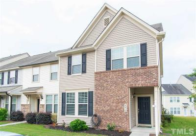 Wake Forest NC Townhouse For Sale: $225,000