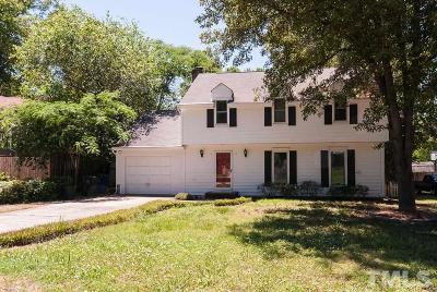 Raleigh Single Family Home Contingent: 6305 Lewisand Circle