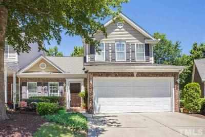 Raleigh Townhouse For Sale: 3430 Archdale Drive