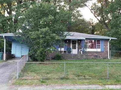 Durham Single Family Home For Sale: 2408 Anacosta Street
