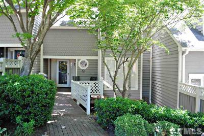 Raleigh Townhouse For Sale: 7502 S Wellesley Park