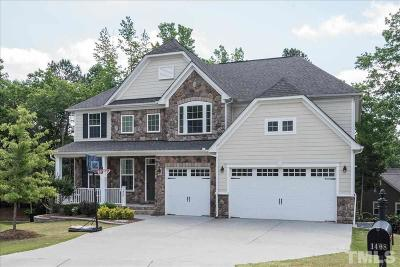 Wake Forest Single Family Home For Sale: 1408 Kingside Court