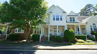 Raleigh Townhouse For Sale: 11005 Flower Bed Court