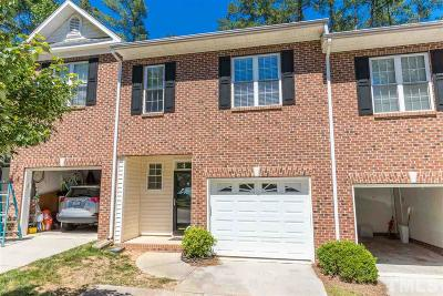 Raleigh Townhouse For Sale: 3043 Coxindale Drive