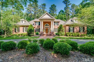 Chapel Hill Single Family Home For Sale: 10136 Governors Drive