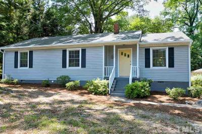 Raleigh Single Family Home For Sale: 3700 Lee Road
