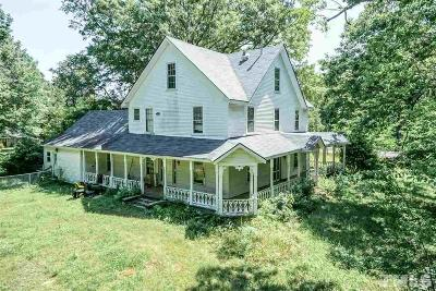 Zebulon Single Family Home For Sale: 601 Pearces Road