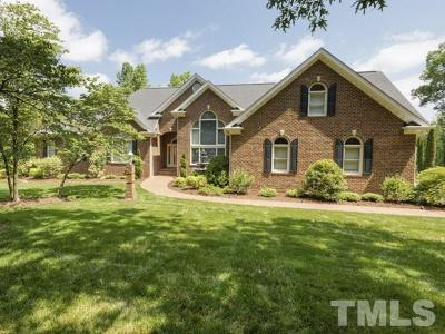 Fuquay Varina Single Family Home Contingent: 250 Woodland Ridge Drive