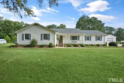 Kenly Single Family Home For Sale: 45 Scott Drive